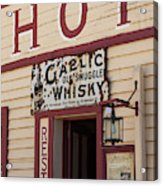 Cardrona Hotel, Cardrona, Otago, South Acrylic Print