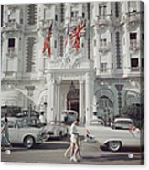 Carlton Hotel Acrylic Print