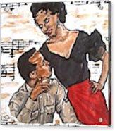 Carmen Jones - That's Love Acrylic Print