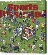 Carnage Inside The Nfls Season Of Pain Sports Illustrated Cover Acrylic Print