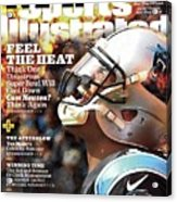 Carolina Panthers Cam Newton, 2016 Nfl Football Preview Sports Illustrated Cover Acrylic Print