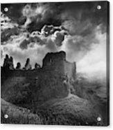 Carreg Cennen 3 Acrylic Print
