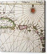 Carribean Islands Acrylic Print