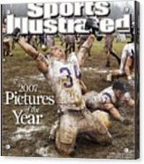 Carroll College Brandon Day, 2007 Naia National Football Sports Illustrated Cover Acrylic Print