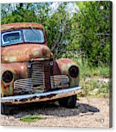 Cars From The Past Acrylic Print