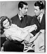Cary Grant, James Stewart Acrylic Print