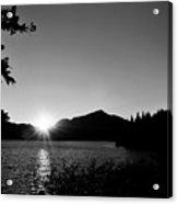 Cascade Sunset Acrylic Print