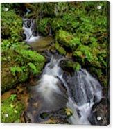 Cascades Of Lee Falls Acrylic Print