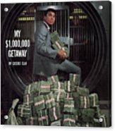 Cassius Clay, Heavyweight Boxing Sports Illustrated Cover Acrylic Print