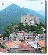 Castelvecchio Di Rocca Barbena Acrylic Print