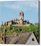 Castle At Cochem In Germany Acrylic Print