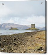 castle Stalker in late autumn Acrylic Print