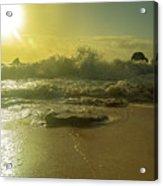 Catching The Spirit Sun Coastal Sunrise Acrylic Print