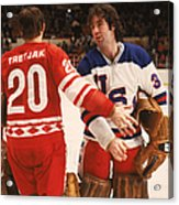 Cccp Beats Us Rivals In Exhibition Game Acrylic Print