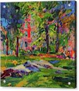 Cedar Hill, Central Park Acrylic Print
