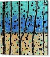 Celebration - Abstract Landscape  Acrylic Print