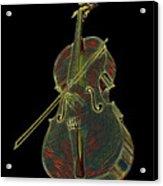 Cello Music Instrument Professional Musician Designed Acrylic Print