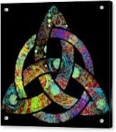 Celtic Triquetra Or Trinity Knot Symbol 3 Acrylic Print