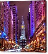 Center City Philadelphia Acrylic Print
