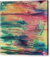 Central Park Sunset Acrylic Print