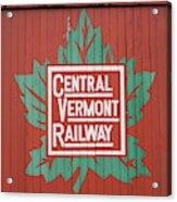 Central Vermont Railway Acrylic Print