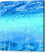 Champagne Sea 2 Acrylic Print