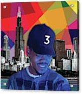 Chance Chicago Acrylic Print