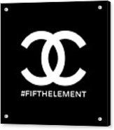 Chanel Fifth Element-2 Acrylic Print