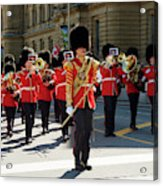Changing Of The Guard In Ottawa Ontario Canada Acrylic Print