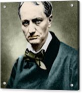 Charles Baudelaire, French Writer, Photo Acrylic Print