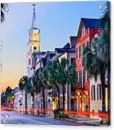 Charleston, South Carolina, Usa Acrylic Print