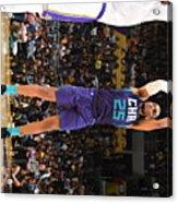 Charlotte Hornets V Los Angeles Lakers Acrylic Print