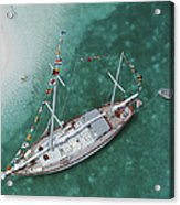 Charter Ketch Acrylic Print