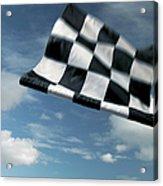 Checkered Flag Acrylic Print