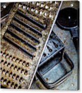 Cheese Grater 33 Acrylic Print