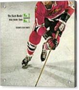 Chicago Blackhawks Stan Mikita... Sports Illustrated Cover Acrylic Print