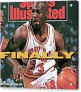 Chicago Bulls Michael Jordan, 1991 Nba Eastern Conference Sports Illustrated Cover Acrylic Print