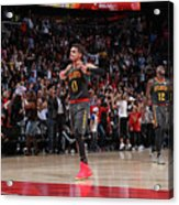Chicago Bulls V Atlanta Hawks Acrylic Print