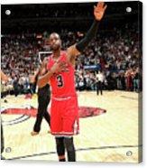 Chicago Bulls V Miami Heat Acrylic Print