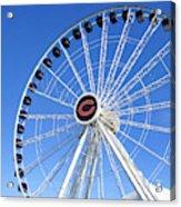Chicago Centennial Ferris Wheel 2 Acrylic Print