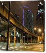 Chicago City Streets Acrylic Print