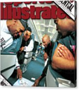 Chicago Confidential Behind The Scenes With Michael Jordan Sports Illustrated Cover Acrylic Print