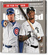 Chicago Cubs Javier Baez And Chicago White Sox Tim Sports Illustrated Cover Acrylic Print