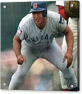Chicago Cubs Ron Santo... Sports Illustrated Cover Acrylic Print