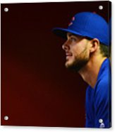 Chicago Cubs V Arizona Diamondbacks Acrylic Print
