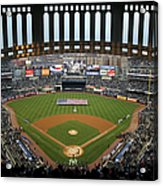 Chicago Cubs V New York Yankees Acrylic Print
