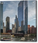 Chicago Skyline #1 Acrylic Print