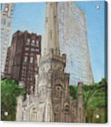 Chicago Water Tower 1c Acrylic Print