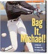 Chicago White Sox Michael Jordan... Sports Illustrated Cover Acrylic Print