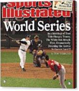 Chicago White Sox Scott Podsednik, 2005 World Series Sports Illustrated Cover Acrylic Print